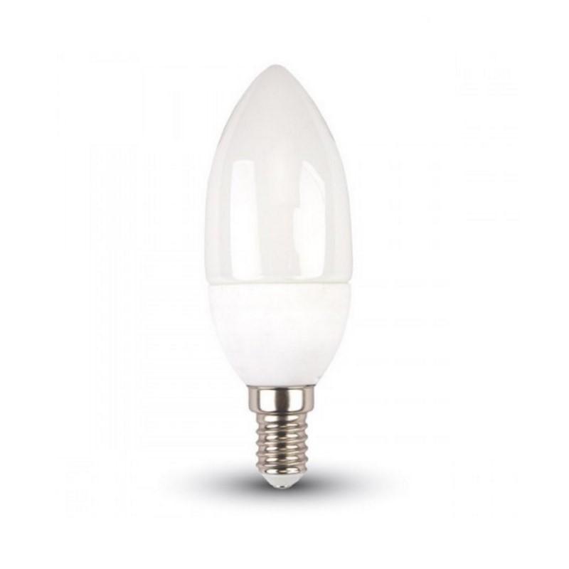 E14 LED kaars, 3w warm wit