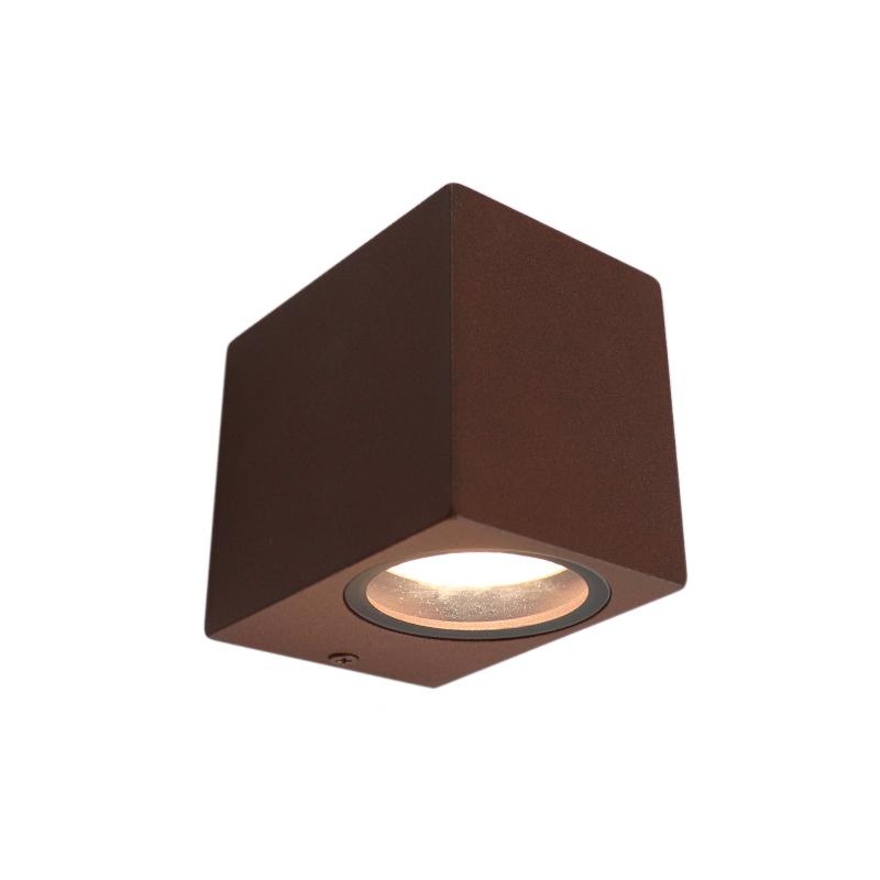 Moderne Corella wandlamp - roestbruin, klein