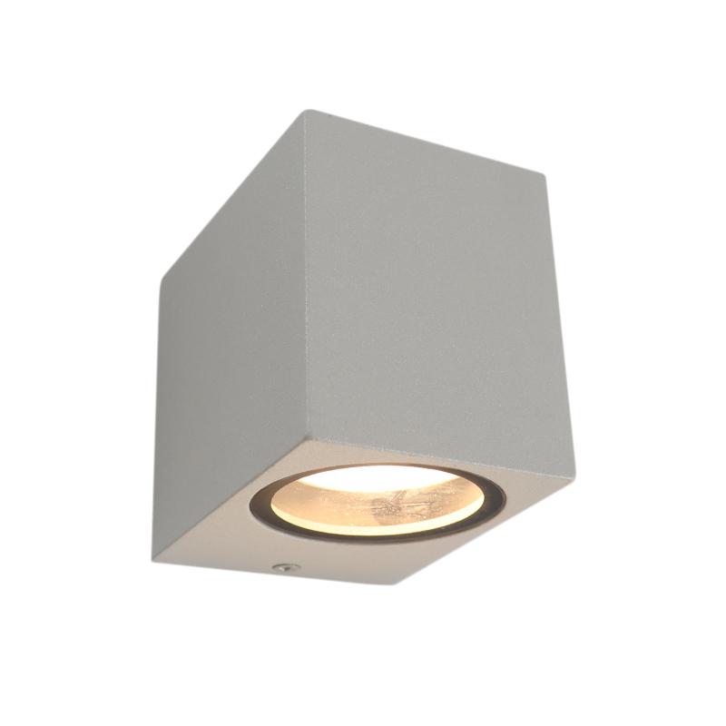 Moderne Corella wandlamp - lichtgrijs, klein