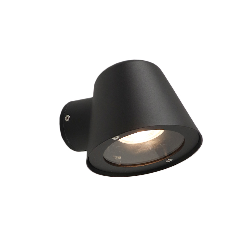 Zwarte buiten wandlamp Coralyn - modern design