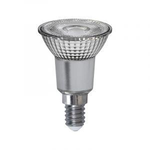 Dimbare transparante E14 LED lamp Gorge, 4,8w warm wit