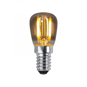 Rookglas schakelbord lampje, E14, extra sfeervol licht, 1w