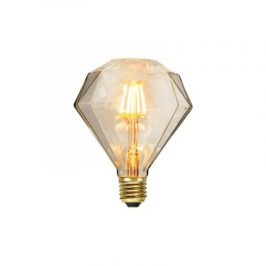 E27 diamant LED lamp Evert, 1,65 Watt, 2200K (Extra sfeervol wit)