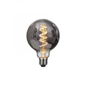 Rookglas E27 LED lamp Reda, G95, 4w, 2200K (extra sfeervol wit)