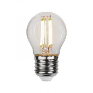 3 staps dimbare E27 kogellamp, 4w warm wit (3000k)