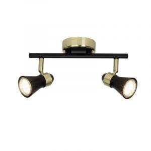 Moderne plafondlamp Alexia, Messing