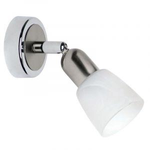 Mat chroom, Chroom wandlamp Bettie