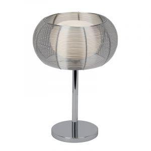 Moderne tafellamp Amela, Chroom