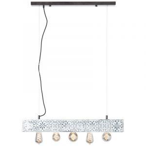 Klassieke hanglamp Gulsum, Metaal