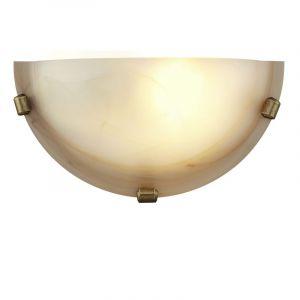 Bruine wandlamp Alvina