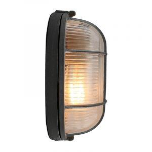Landelijke, Brocante, Industriële wandlamp Kali - Beton Grijs