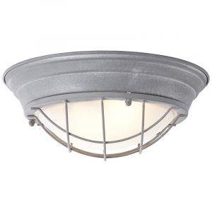 Industriële, Landelijke, Brocante Plafondlamp Ketrin - Beton Grijs