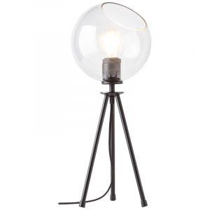 Design Tafellamp Ramin, Metaal, met Aan/uit schakelaar op het snoer