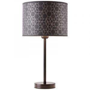 Moderne Tafellamp Bojana, Metaal, met Aan/uit schakelaar op het snoer
