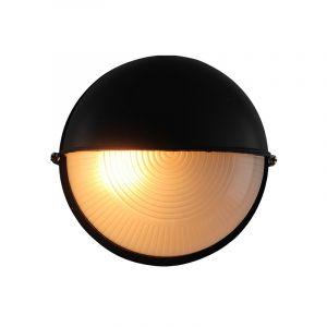 Zwarte buiten wandlamp Alette