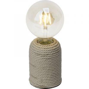 Design tafellamp Adelynn, Bruin