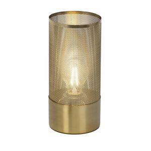 Moderne tafellamp Alberta, Messing