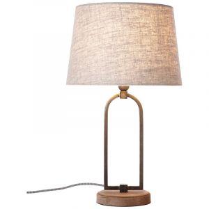 Klassieke tafellamp Zoey, Beige