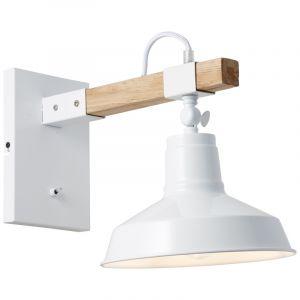 Landelijke wandlamp Albiona, Metaal