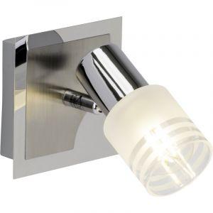 Mat chroom, Chroom wandlamp Aimey
