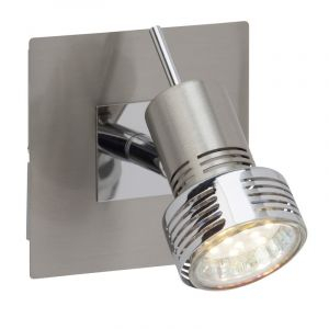 Mat chroom, Chroom wandlamp Abygail