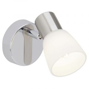 Mat chroom, Chroom wandlamp Ziyana