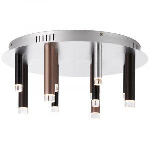 Moderne plafondlamp Olivia, Bruin, Koffie