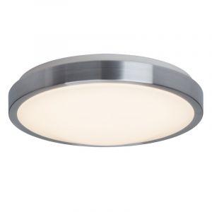 Chroom, Witte plafondlamp Dima