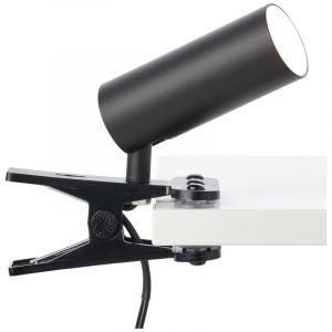 Moderne klemlamp Annelise, Metaal, 4,5w neutraal wit LED