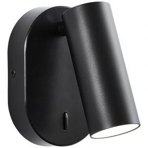 Moderne wandspot Annelise, Metaal, 4,5w neutraal wit LED