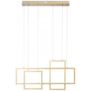 Moderne hanglamp Celena, Metaal, 60w warm wit LED
