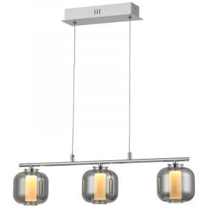 Design hanglamp Emmely, Metaal, 17w warm wit LED