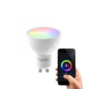 Dimbare Calex GU10 smart lamp, 5w, RGBW