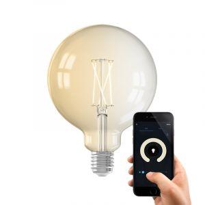 Dim to warm Calex E27 smart bollamp G125, 7,5w