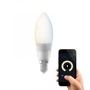Dim to warm Calex E14 smart kaarslamp, 4,5w