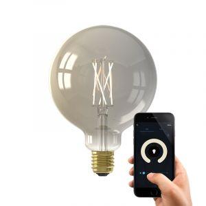 Dim to warm Calex E27 smart bollamp G125, 7w