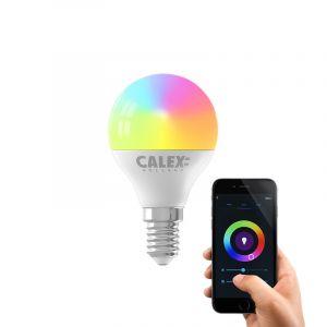 Dimbare Calex E14 smart kogellamp, 5w, RGBW