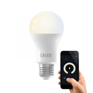 Dim to warm Calex E27 smart lamp A60, 9w