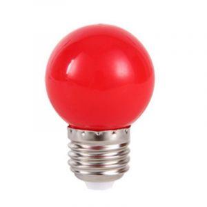 Rode lampenbol - 1 Watt