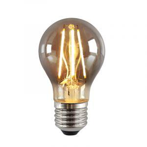 Dimbare E27 LED lamp, A60, 5w, Smoke glas, 2200k