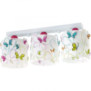 Kinderkamer plafondlamp Vlinders