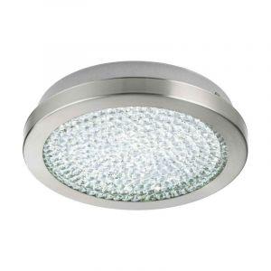 Aarnout plafondlamp - Nikkel-Mat