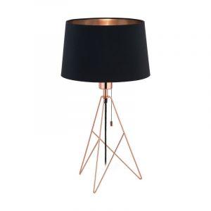 Stalen tafellamp Viola koper
