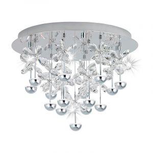 RVS plafondlamp Vin chroom