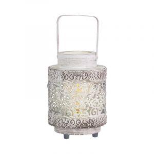 Landelijke Klassieke Zwarte tafellamp Katey