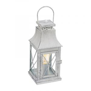 Landelijke Klassieke Glazen Grijze Transparante tafellamp Kenzy
