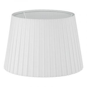 Klassieke lampenkap Noah Textiel/Geplooid Wit