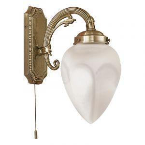 Klassieke wandlamp Esca brons