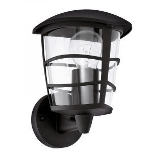 Intissar buitenlamp gegoten aluminium zwart