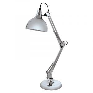 Industrieel Landelijke Brocant Moderne Chroom tafellamp Loraine